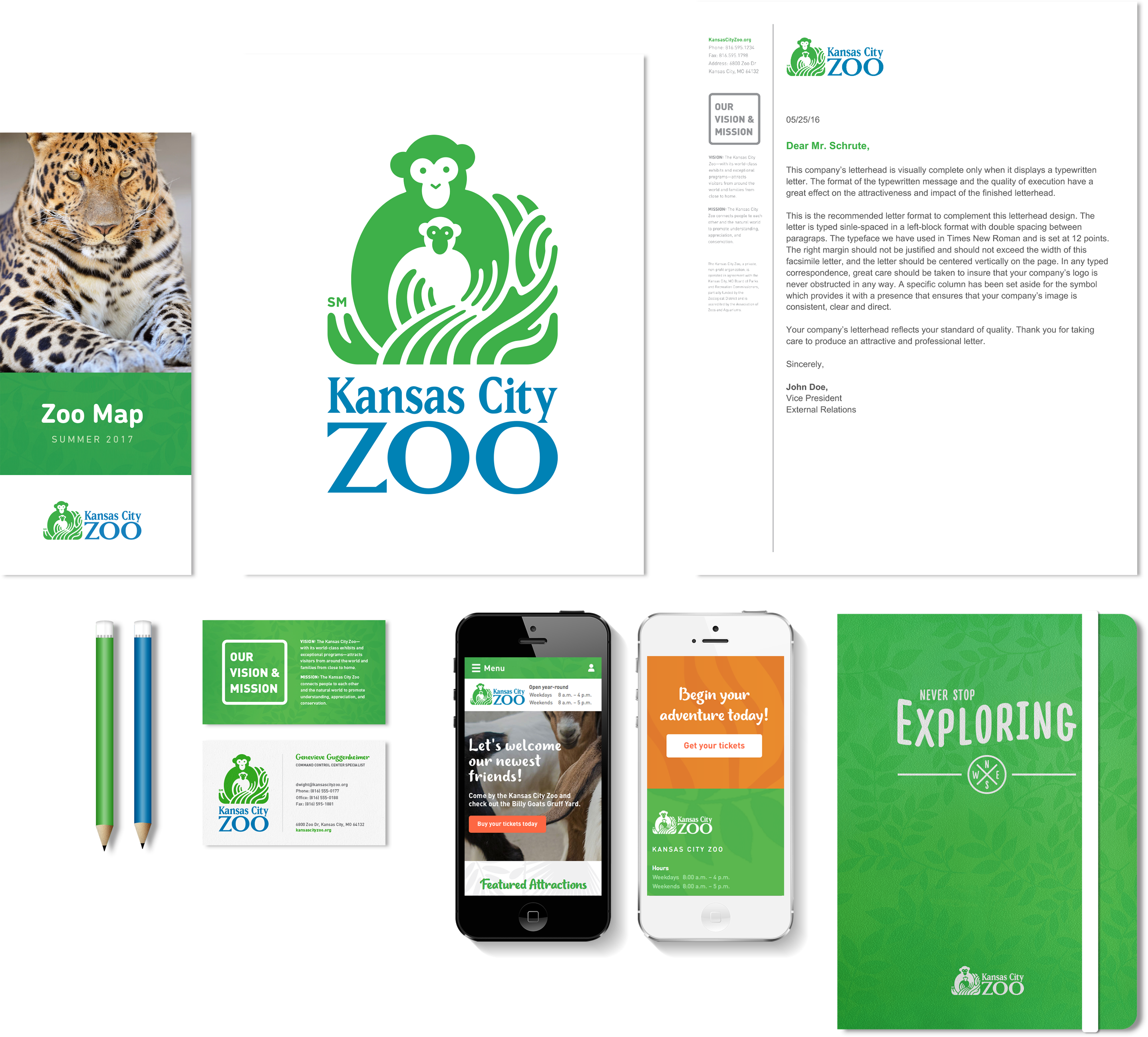 How Our Kansas City Web Design Team Used Using Graphic Design To Redesign The Kansas City Zoo Brand